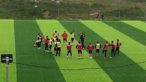Trening fudbalera Borca, FK Borac