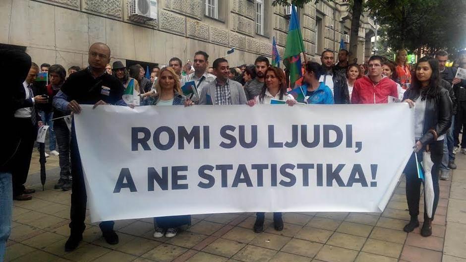 parada roma romski prajd šetnja