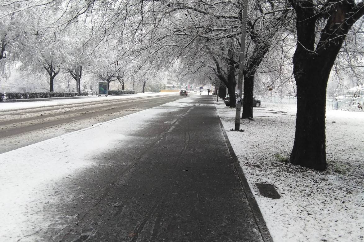 Banjaluka, snijeg, zima