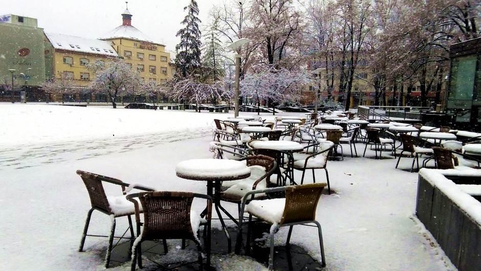 Snijeg, Banjaluka, Zima