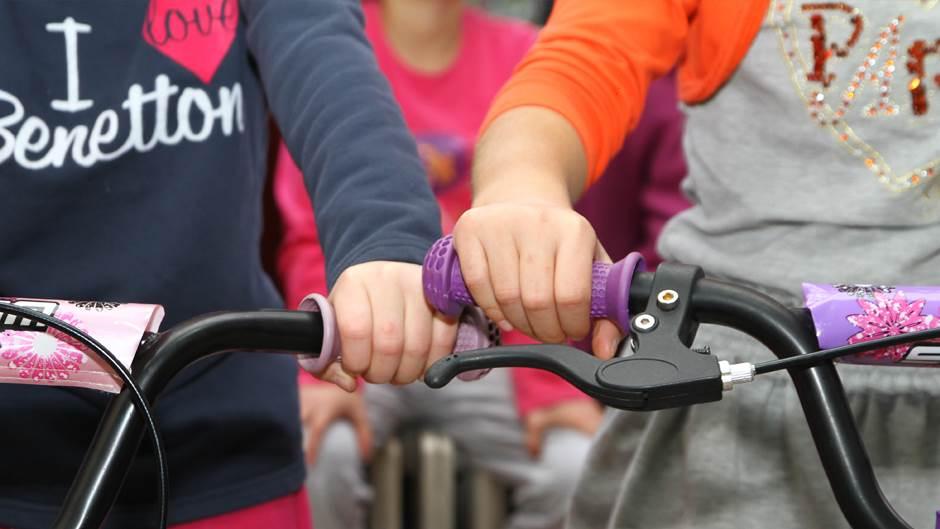 bicikli, djeca, dom rada vranješević