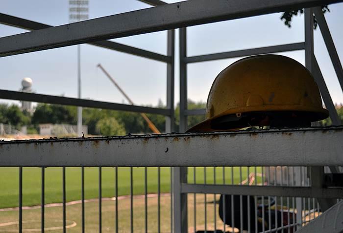 Izgradnja, stadion, čukarički, radnici