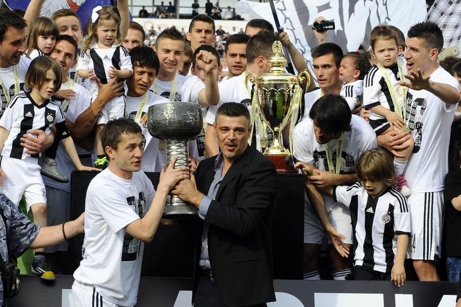 Savo Milošević Saša Ilić Partizan