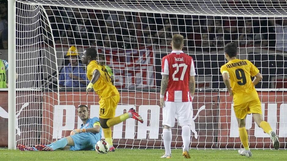 Počelo je porazom od Kairata, kojim je nagoveštena brza eliminacija iz Evrope. TIm iz Kazahstana slavio je 2:0 u Ljutice Bogdana.