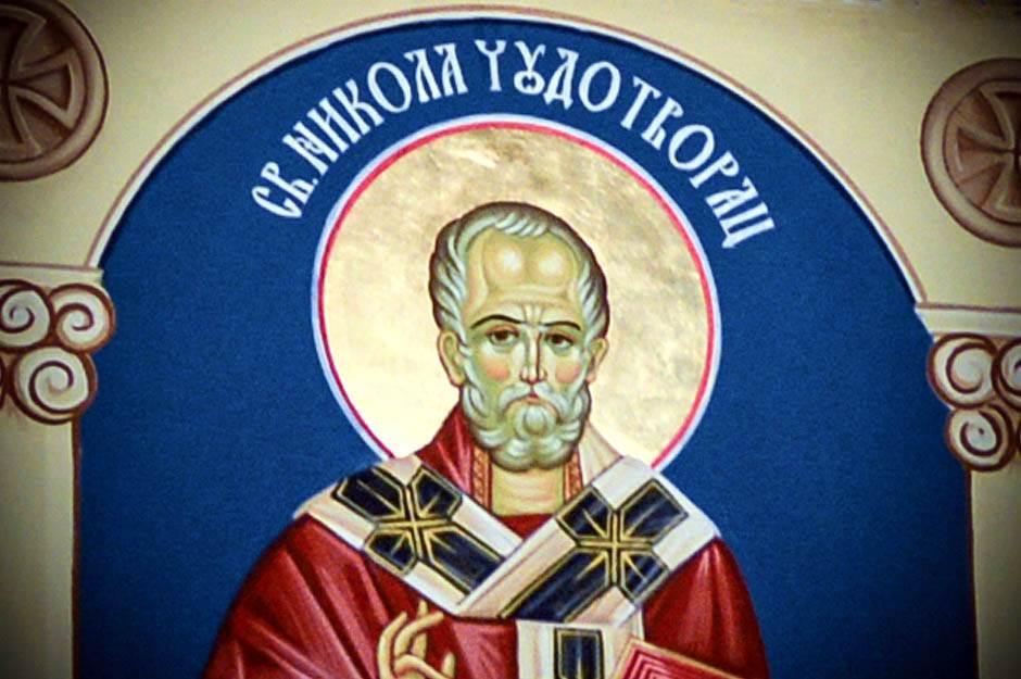 sveti nikola, nikoljdan, sv nikola, slava, svetacm ikona, freska