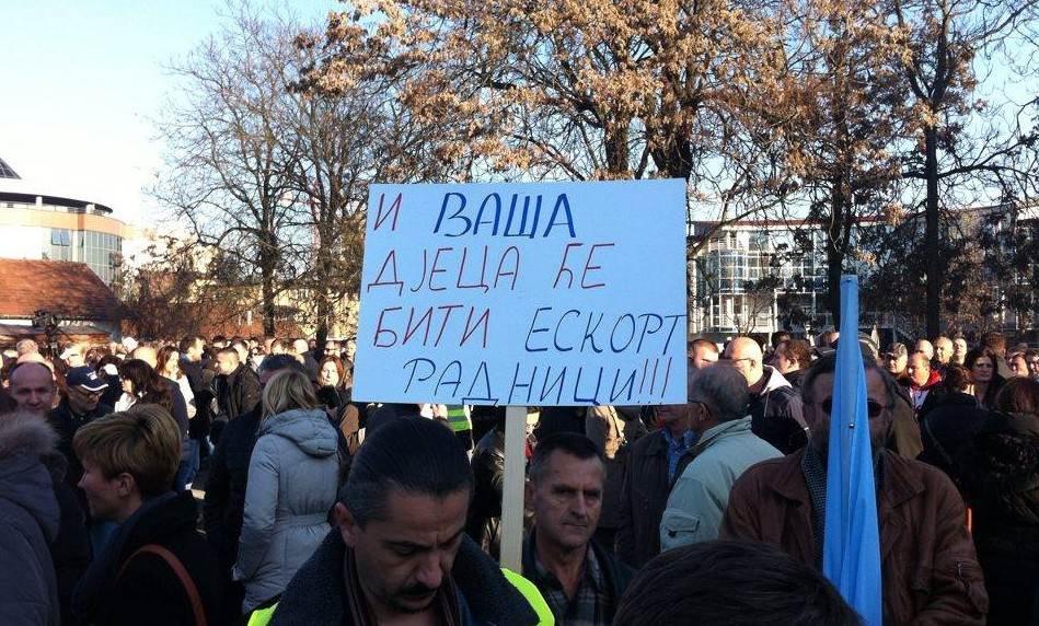 Protest, Banjaluka