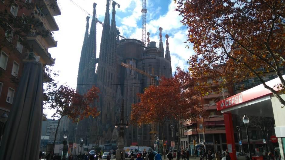 Barselona, Sagrada, Sagrada familija, Gaudi