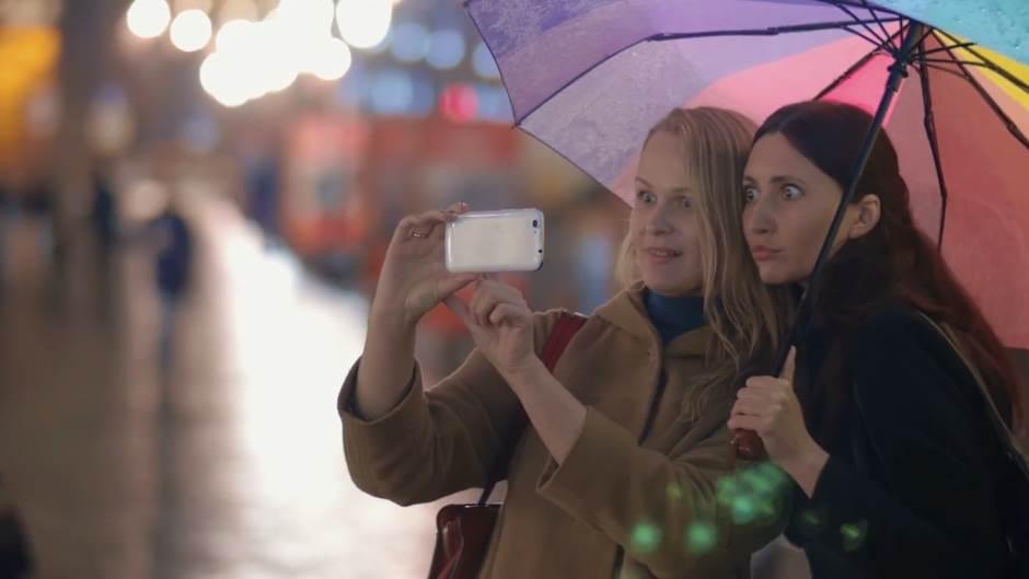 Nokia, Telefon, Devojke, Selfi, Selfie, Smartfon, Mobilni, Nokia C1