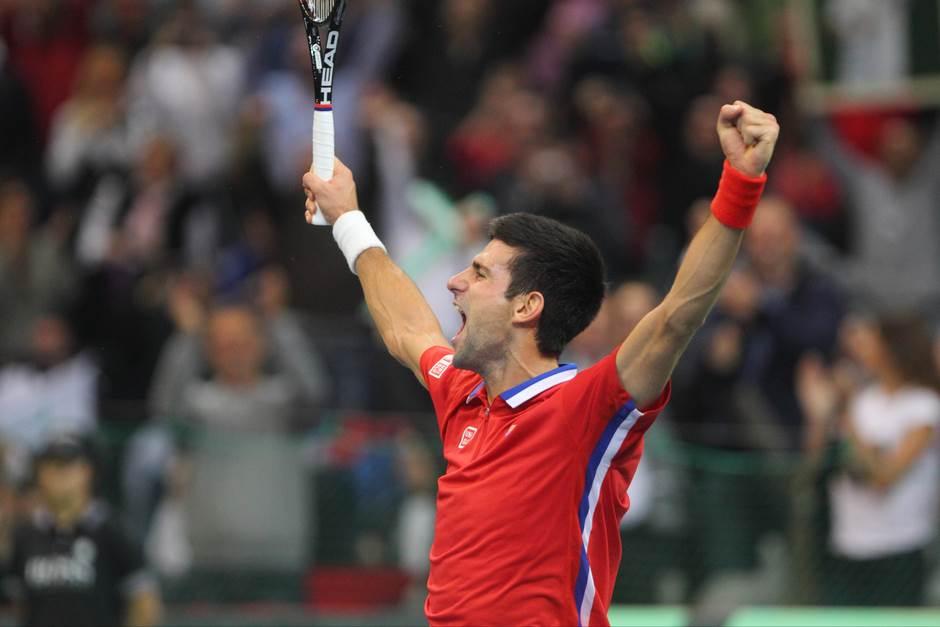 Sjajne vijesti: Novak igra u finalu Dejvis kupa