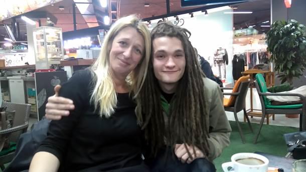 Jovanova majka Ljiljana i jedan od najboljih prijatelja, Fedor