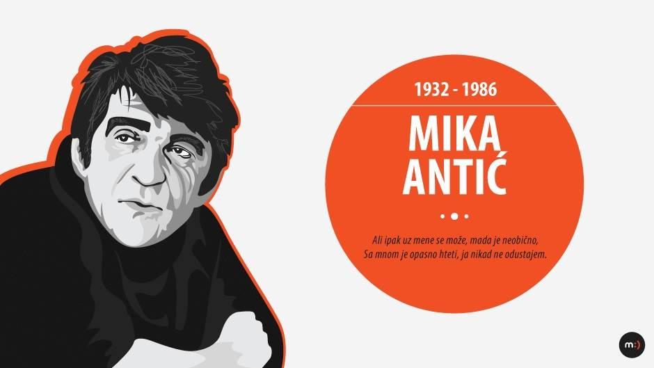 Miroslav Antić, Mika Antić