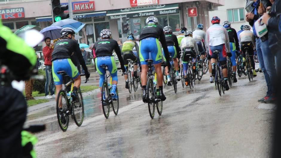 Biciklistička trka Beograd-Banjaluka, start iz Teslića