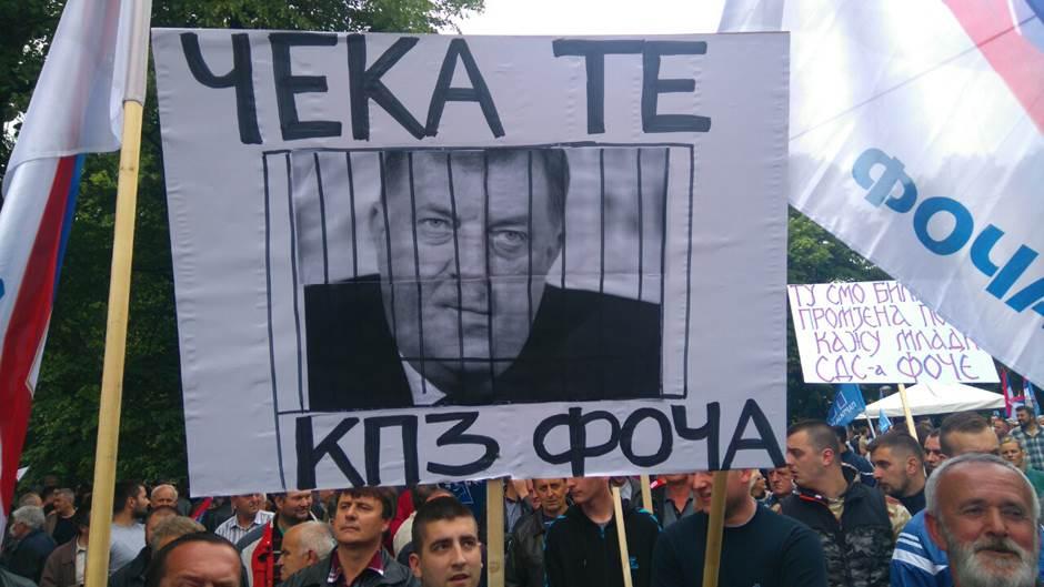 Protesti opozicije u maju 2016.