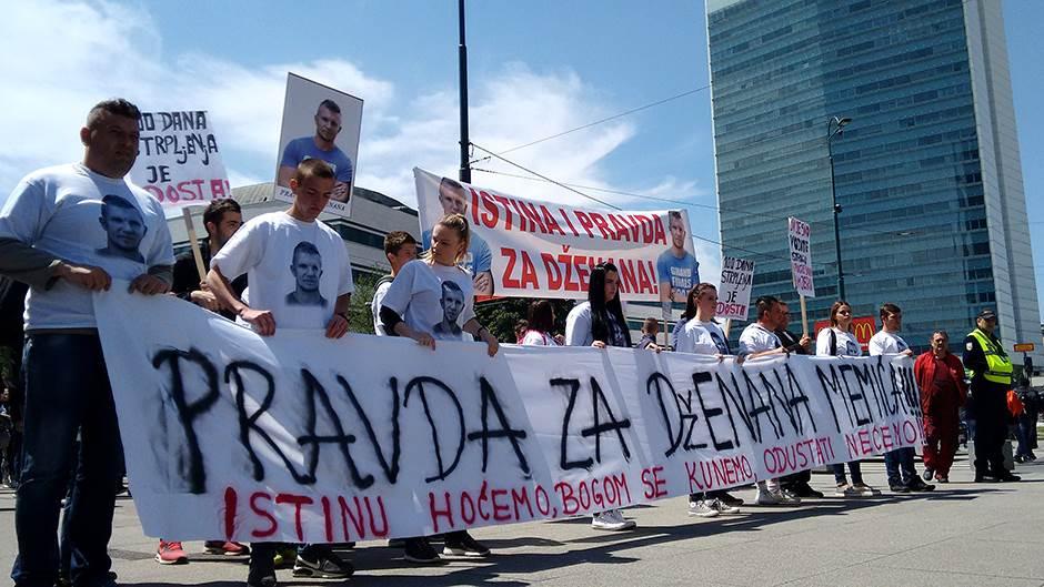 Arhivska fotografija sa ranijeg protesta.