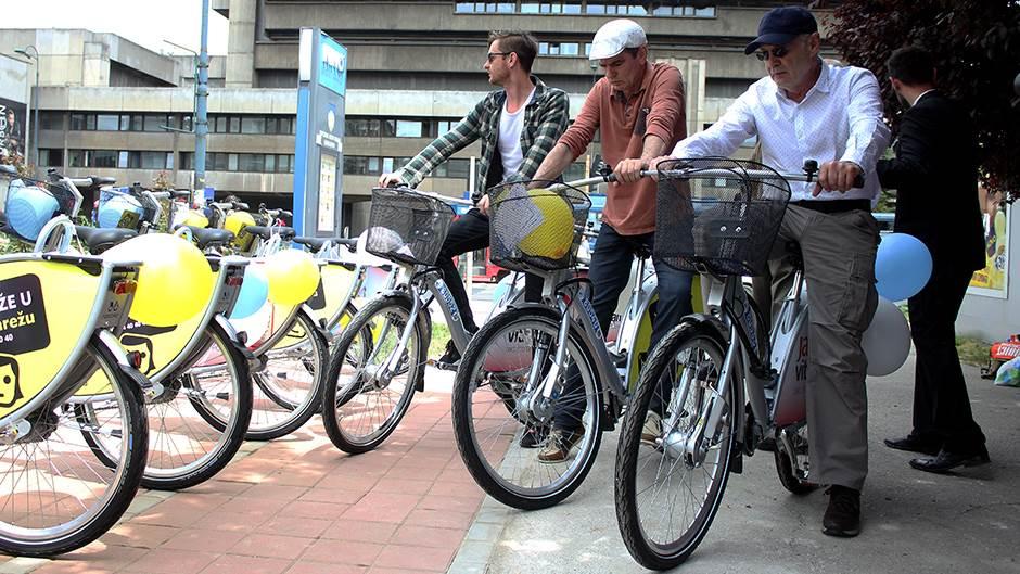 Nextbike, bicikla, biciklo, Lud zbunjen normalan, Mustafa Nadarević, Senad Bašić, Muamer Kasumović