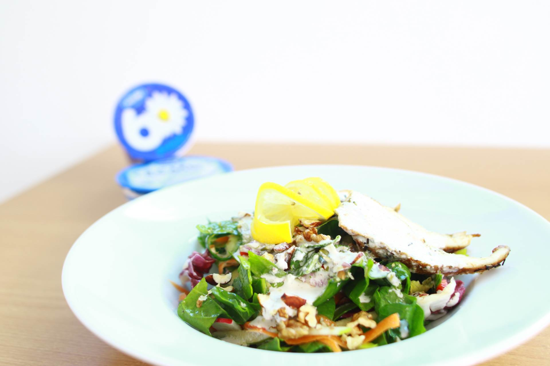 salata s piletinom, fitnes salata