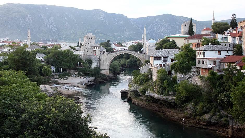 Mostar, Stari most, Neretva