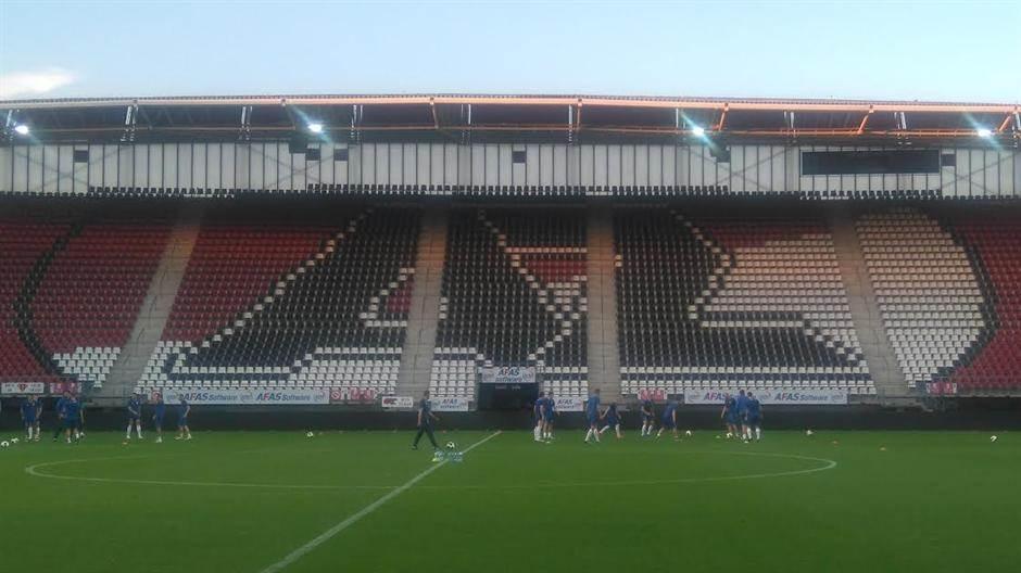 AZ Alkmar stadion Vojvodina