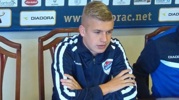 Vladan Danilović, FK Borac