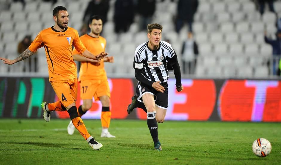 Partizan, Spartak, Dušan Vlahović