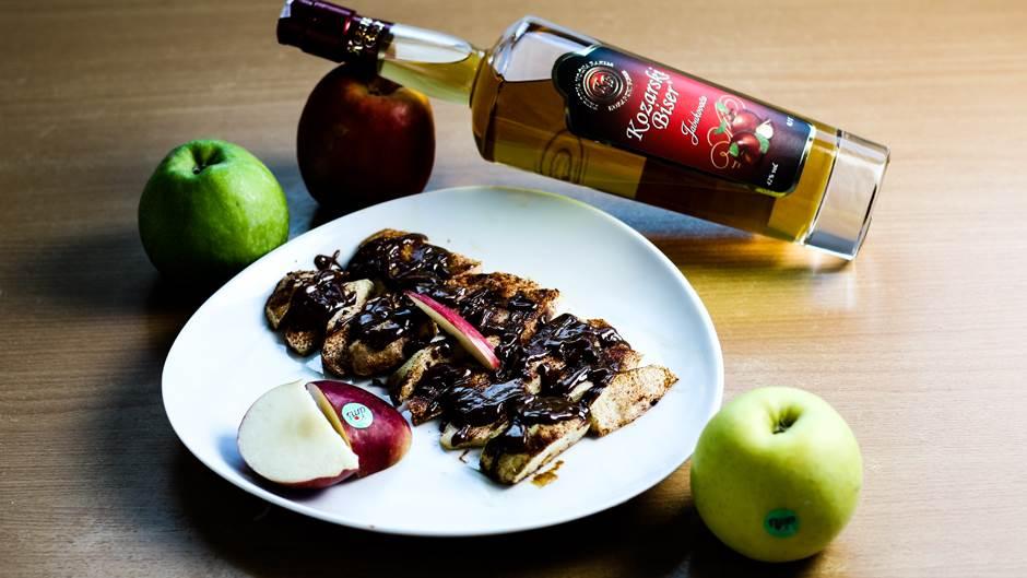 jabuke, desert, mondo kuhinja