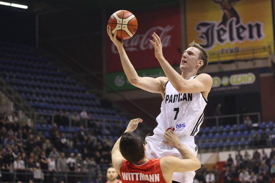 Adin Vrabac Partizan Solnok