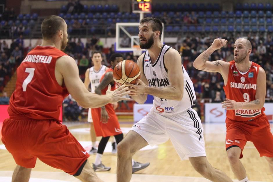 Stefan Birčević Partizan Solnok