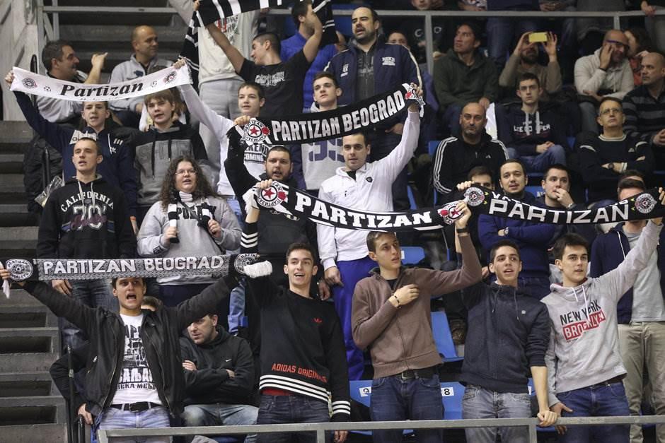 Grobari navijači KK Partizan