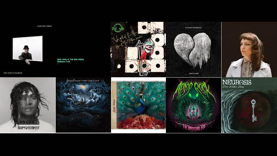 top 10 albuma