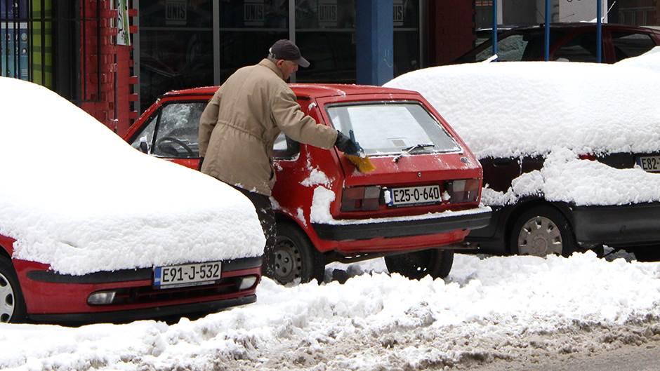 snijeg, zima, nevrijeme, sarajevo