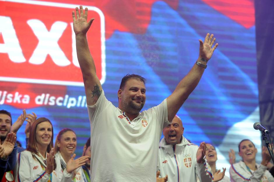 Dejan Savić, vaterpolo