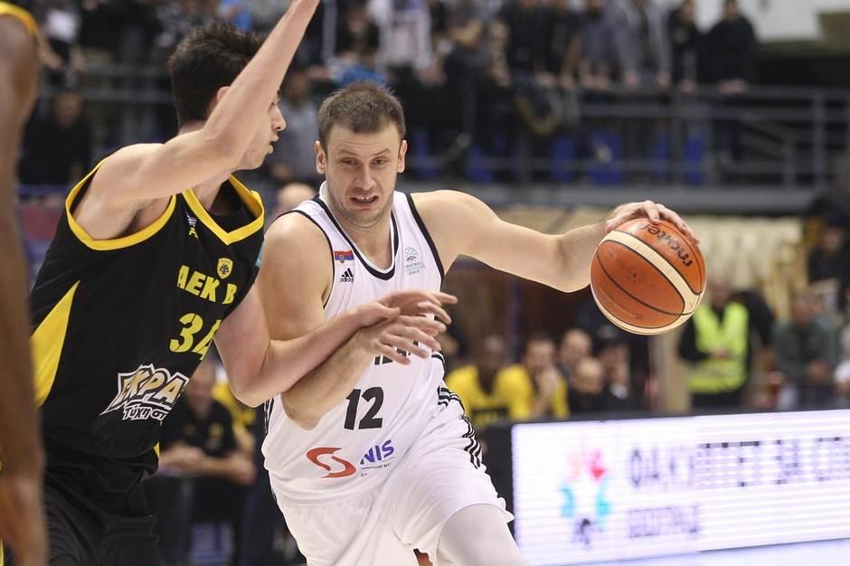 Novica Veličković Partizan AEK