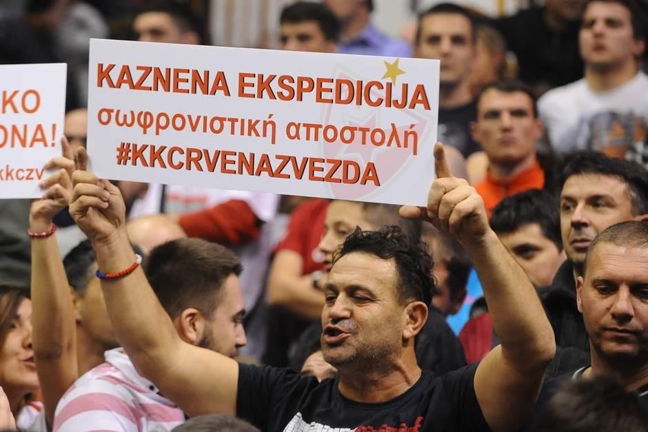 KK Crvena zvezda navijači