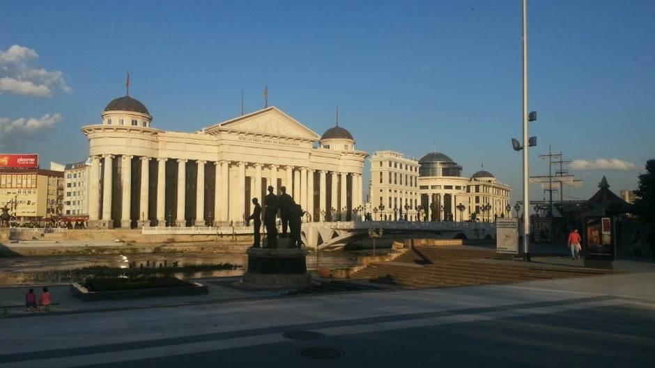 Skoplje, Makedonija