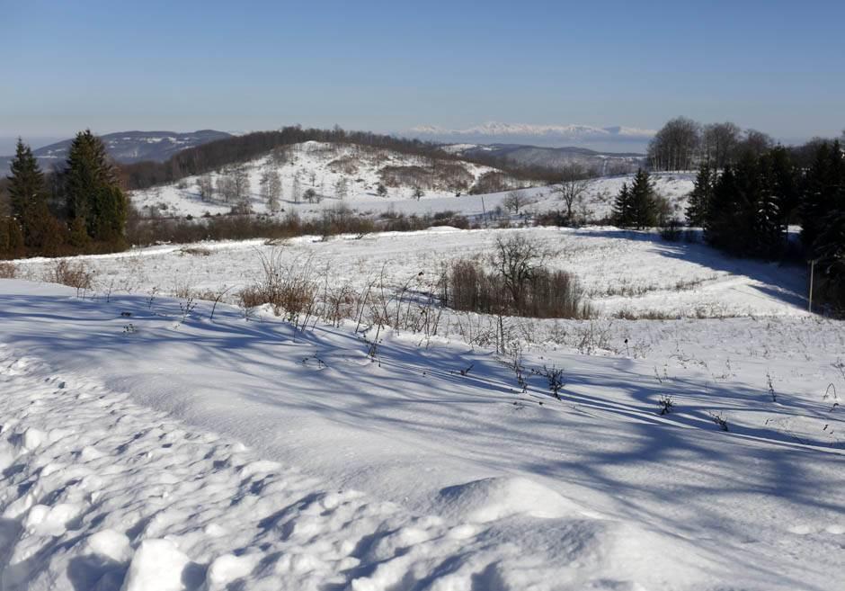 žitni potok, selo, sneg, zima, hladno, minus, padavine, mećava, srbija, planina, priroda
