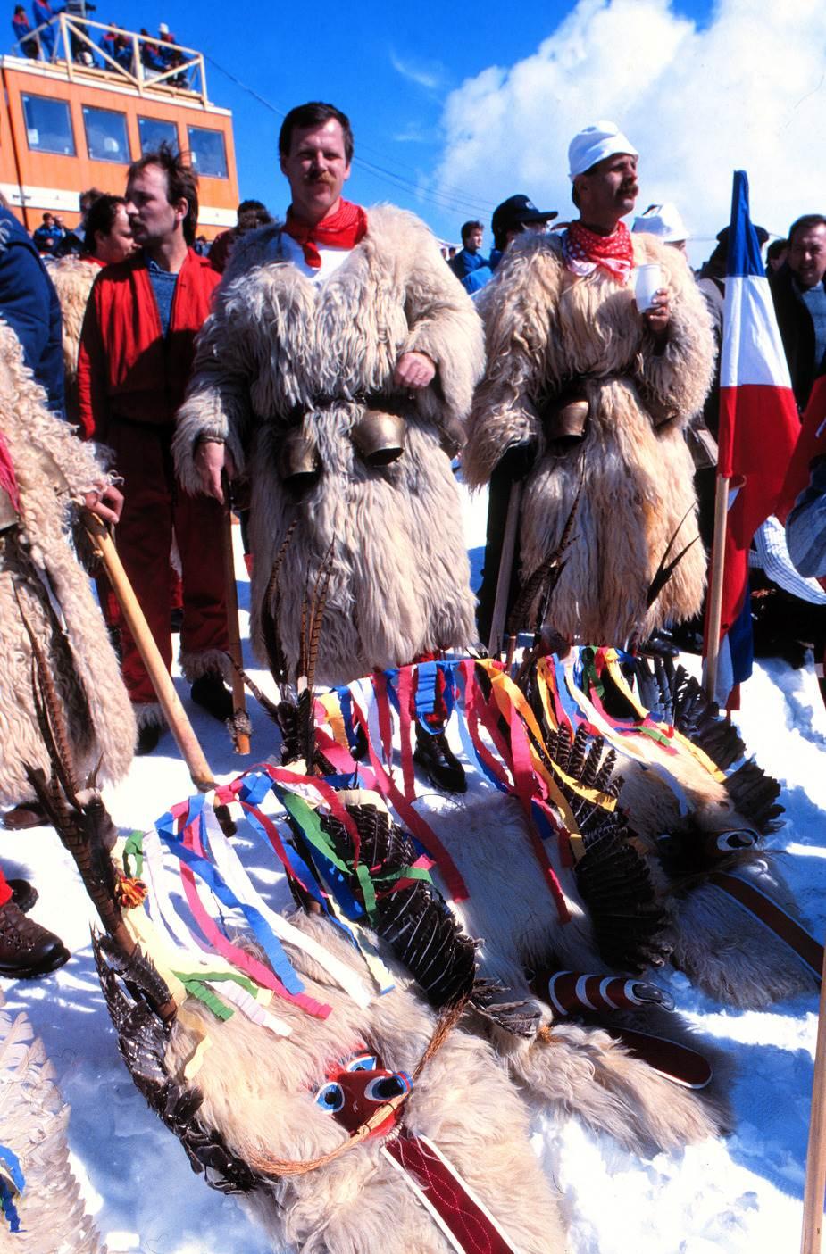 Navijači jugoslovenskih skijaša