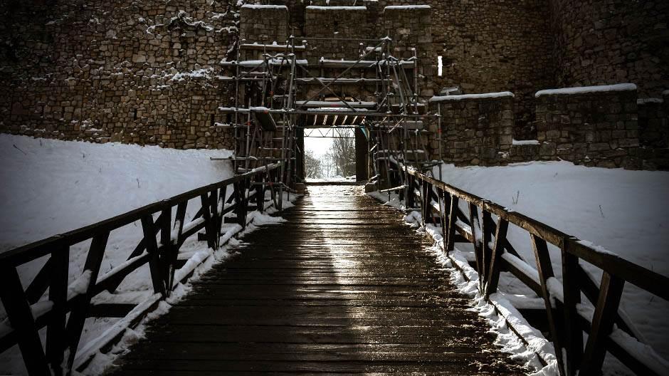 beograd, most, vrata, tvđava, zima, sneg, vreme, grad, kalemegdan, padavine, mećava, hladno