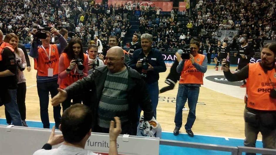 Miša Tumbas rođendan Partizan