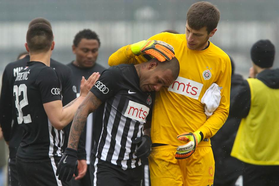 Everton Luiz, Partizan