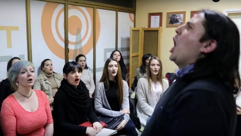 Na probi sa Banjalučankama! FOTO, VIDEO