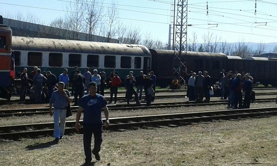 Željezničari štrajk