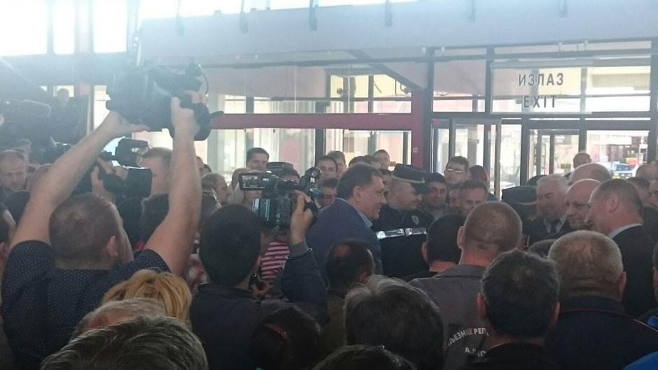 Dodik, željezničari
