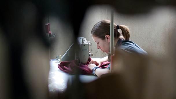 šivanje, radnica, tekstil