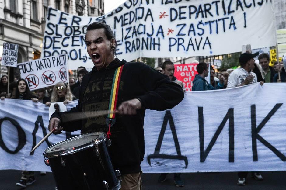 protesti protiv diktature, protiv diktature, protest, beograd,