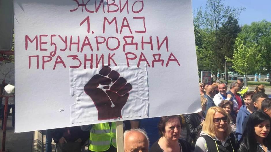 Prvi maj, protest, Banjaluka