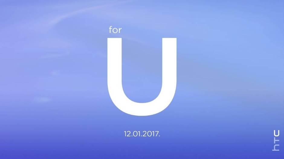 HTC, HTC U, HTC For U, HTC For U 12. 01. 2017.