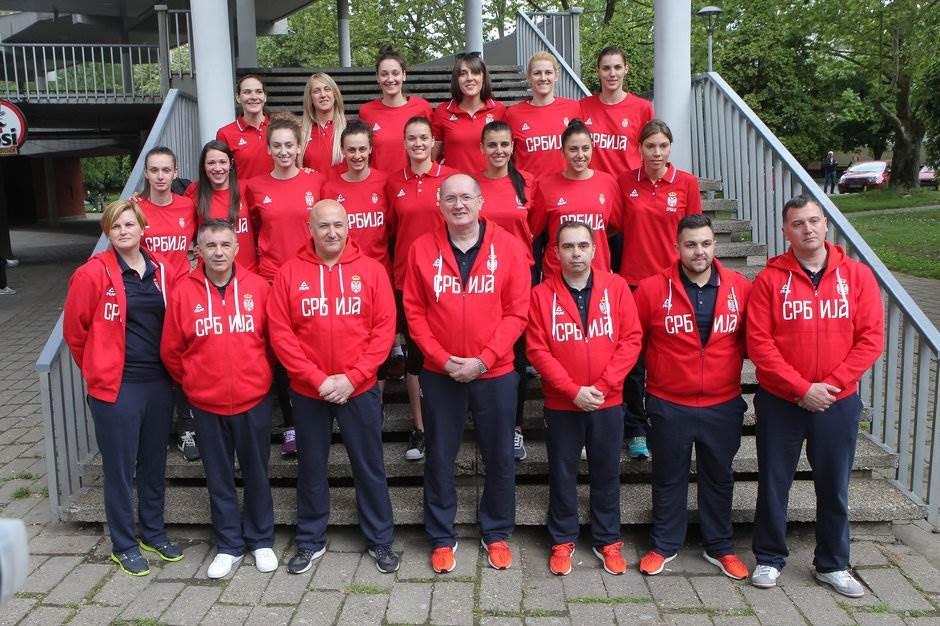 Košarkašice reprezentacija Stevan Karadžić