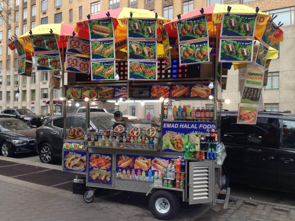 ulična hrana, njujork, hrana