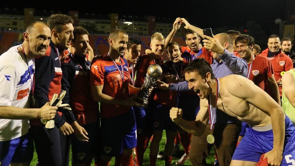 FK Borac, osvajač Kupa Grada Banjaluka 2017. godine