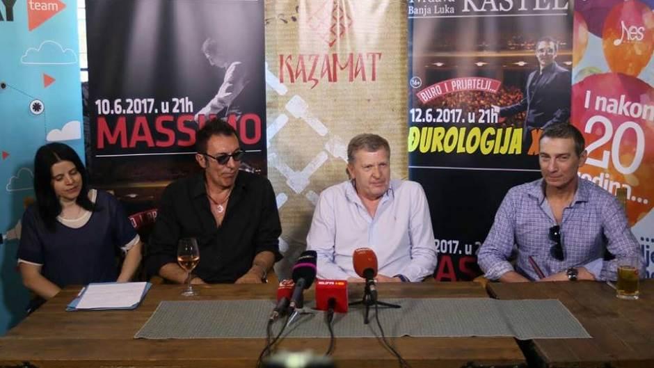 Branko Đurić Đuro, Massimo Savić